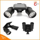 14 Capteur de mouvement IRP étanche à LED à alimentation solaire, de lumière LED Lampe Solaire de Jardin des feux de la sécurité Rue lumière extérieure