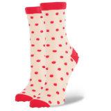 Reine Baumwollreizende Frauen-Socke mit fantastischem Patten-Fabrik-Zubehör