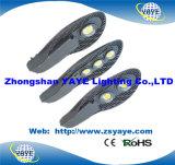 Ce de Yaye 18 y RoHS y 3/5 año de la garantía de la MAZORCA 50With60With70With80W LED de calle de la luz de /LED de lámpara IP65 del camino