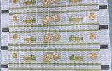 Het aangepaste Kunstwerk drukte Frontale Band voor Diaper/Kleurrijke Frontale Band/Kleurrijke Niet-geweven af