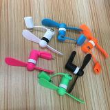 Миниый вентилятор телефона вентилятора 2in1 USB Smartphone вентилятора для iPhone/Samsung