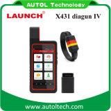 Meilleur Lancement du scanner de diagnostic automobile X431 Diagun IV Mise à jour gratuite de 2 ans Lancement du scanner de code X-431 Diagun 4
