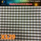 Tela de elección múltiple tejida poliester al por mayor de la verificación colorida para la ropa (X127-129)