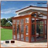 Salle de Sun en aluminium de style européen, l'hiver jardin pour le toit d'Arche
