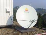 antenne van Vsat van het Grondstation van de Compensatie van 1.8m de Satelliet