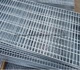 Suelo de la prolongación del andén de la fábrica y reja galvanizados sumergidos calientes del acero de la plataforma