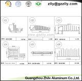 Radiatore di alluminio personalizzato dell'espulsione del materiale da costruzione