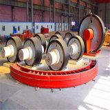 ココナッツシェルによって作動するカーボンのためのセメントの上部転輪のロータリーキルン