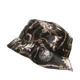 Baumwollkundenspezifischer voller gedruckter Muster-Wannen-Hut 100%