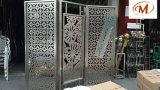 Tratamiento superficial de pared de partición de acero inoxidable