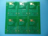 Persianas vía tarjeta de circuitos PWB de 4 capas con la inmersión Golad
