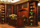 別荘のぶどう温室の贅沢で大きいサイズのワイン貯蔵室ラック(GSP19-020)
