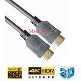 Наградной кабель 3D V1.4 высокоскоростной HDMI с локальными сетями 1080P