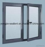 Wohnaluminiumlegierung-schiebendes Fenster
