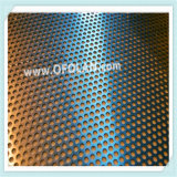 Rectangle maillage Perforation nickel pur