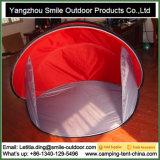 個人的な旅行鉄骨フレームは畳む携帯用浜のテントをぽんと鳴らす
