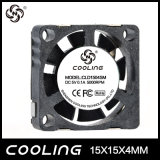 15X15X04mm 3,7 V /5V DC do Ventilador de Refrigeração