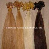 ケラチンの棒の人間の毛髪の拡張卸売価格