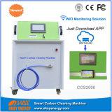 Máquina da limpeza do carbono do motor do hidrogênio de Oxy do gás de Hho da limpeza do cuidado de carro