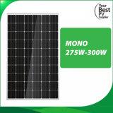 Alta Eficiencia Mono275W-300W monocristalino para el Sistema Solar