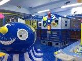 海賊船の主題の熱い販売の子供の屋内運動場の構造(HS17401)