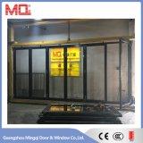 Commerical porte en verre en aluminium pour les projets de construction