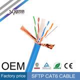 Провод кабеля LAN меди SFTP CAT6 Sipu высокоскоростной электрический