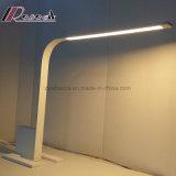 Moderne Eisen-Tisch-Lampe LED-Matt weiße für das Studieren