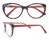 Fabbricazione della Cina Eyewear di vetro dell'occhio di gatto di vetro del blocco per grafici di Eyewear del nuovo modello