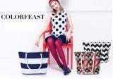 Grande sacchetto di acquisto stampato moderno della borsa per le donne