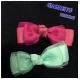 머리 핀 Gpfj023를 위한 다채로운 리본