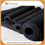Caoutchouc en caoutchouc Rolls de couvre-tapis d'étage de 1m de gymnastique insonorisante de largeur