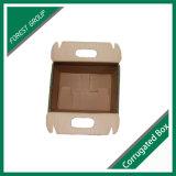 Brown-Zoll gedruckter gewölbter Kasten mit Griff
