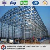 Construction neuve d'usine de construction bon marché diplôméee par OIN de structure métallique