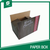 印刷されたクリスマスのギフト包装ボックス卸売