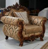 Sofà reale del tessuto di stile di nuovo arrivo per mobilia domestica (168-3)