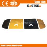 黄色い及び黒くしなさい1mの幅のゴム製矢の速度のこぶ(DH-SP-5)を