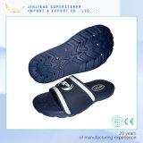 Deslizador feito sob encomenda do banho maria do escape da sandália da corrediça dos homens do logotipo da fábrica