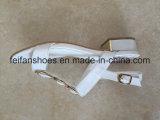 Zapatos de la PU de los zapatos ocasionales de las sandalias de las mujeres (FFSD-01)
