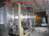 先行技術の下水汚泥の回転乾燥器