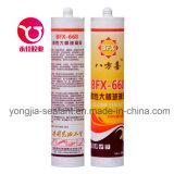 Grands adhésif de guichet de porte en verre de plaque/puate d'étanchéité acétiques de silicones (BFX-668)