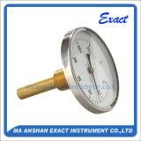 Termômetro de água quente - Termômetro de montagem traseira - Medidor de temperatura