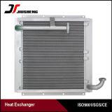 Réfrigérant à huile en aluminium brasé d'excavatrice de barre et de plaque pour Doosan