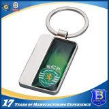 Impression couleur en aluminium avec porte-clés en métal époxy