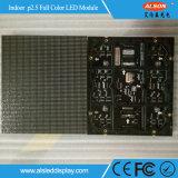 Publicidade em Cores interiores P2.5 módulo LED HD
