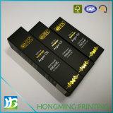 Estampación de oro aceite de argán el papel de embalaje de verificación