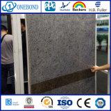Панель сота высокого качества мраморный алюминиевая