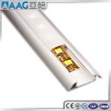 Cubierta de aluminio del perfil de la tira de la luz de la protuberancia LED