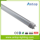Ce elevado RoHS da luz da câmara de ar do diodo emissor de luz T8 do lúmen 1.2m de Aluminium+PC