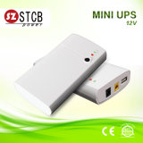 12V DC Mini UPS faixa de tensão de entrada larga de 100V ~ 240V